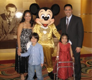 Kaela and family on the Disney Cruise