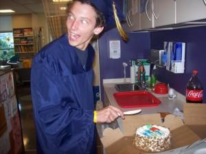Celebrating with Cake